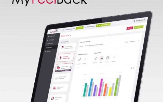 MyFeelBack UI Saas software design