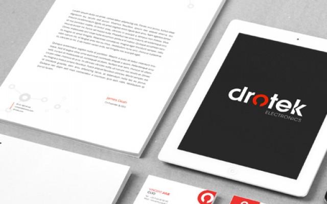 Drotek electronic rebranding