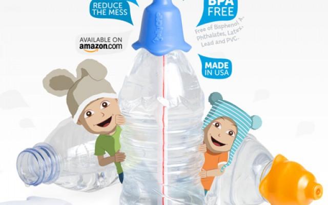 JellyCAP Bouchon silicone pour enfants