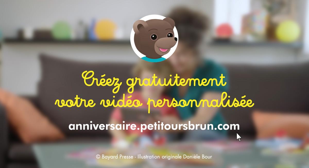 Packshot commercial vidéo